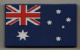 Australia Country Flag Soft PVC Fridge Magnet.